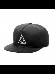 Czapka HUF Triple Triangle Black