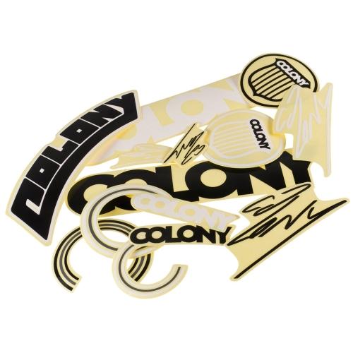 Zestaw naklejek Colony BMX