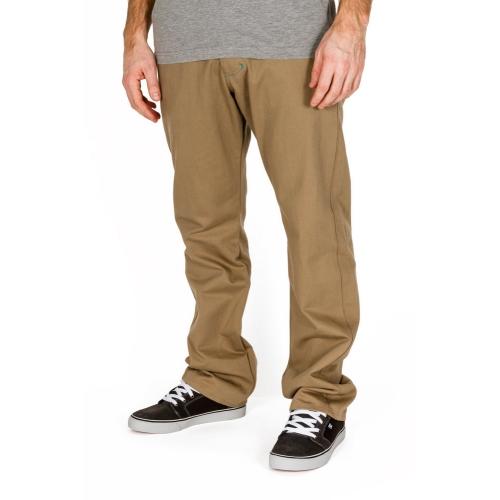 Spodnie Turbokolor Regular-fit Chinos Khaki