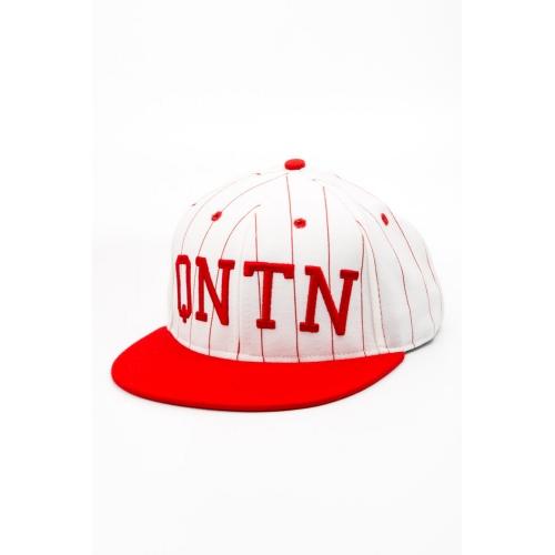 Czapka Quintin Collegiate White / Red