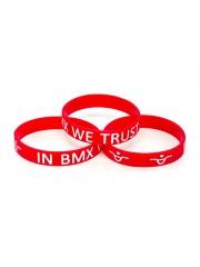Opaska Ave Bmx IN BMX WE TRUST v3 Red