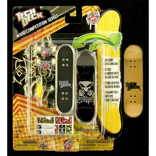 Fingerboard Wood Competition Series Tech Deck Blind