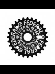Zębatka Federal Logo Solid Black
