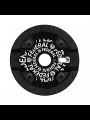 Zębatka Federal Logo Solid Guard Black