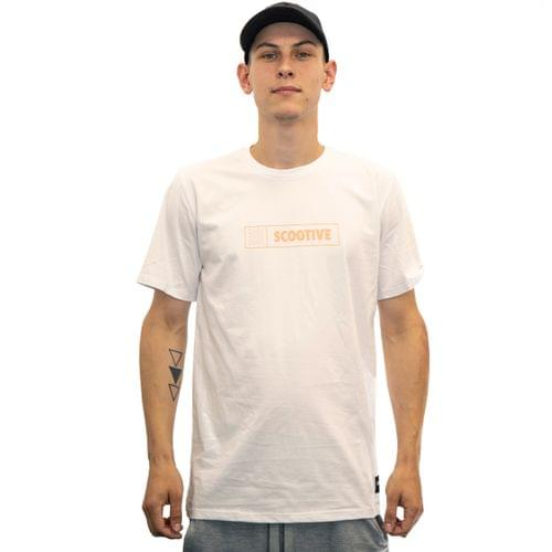 Koszulka Scootive Plaster White