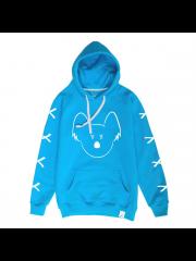 Bluza Flisek XXX Blue Hoodie