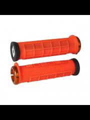 Gripy ODI Elite Pro v2.1 Lock-On Orange / Orange / Black