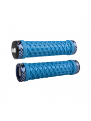 Gripy ODI x Vans Lock-On Cyan Blue / Blue Checkered