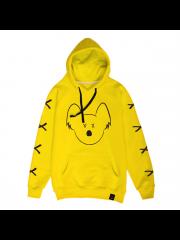 Bluza Flisek XXX Yellow Hoodie