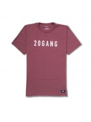 Koszulka Ave Bmx 20GANG Burgundy