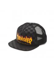Czapka Vans x Thrasher Trucker Black