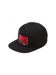 Czapka Vans Bad Valentine Unstructured Black Snapback