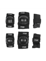 Zestaw ochraniaczy TSG Junior Set Black