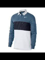 Longsleeve Nike SB Dry Top Polo Thunderstorm / Obsidian / White / White