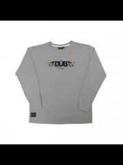 Longsleeve DUB Crest Grey