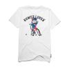 Koszulka PLNY Rower Lover X Ave Bmx White LTD.