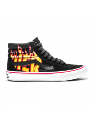 Buty Vans x Thrasher SK8-Hi PRO Black / Flame Logo