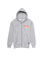 Bluza Ave Bmx Sunset Zip Hoodie Grey