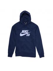 Bluza Nike SB Icon Obsidian / Hydrogen Blue Hoodie
