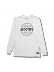 Longsleeve Scootive Sunrise White