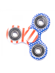 Finger Fidget Spinner Graphic USA Flag