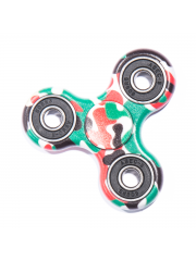 Finger Fidget Spinner Graphic Green/Red