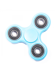 Finger Fidget Spinner Monocolor Light Blue