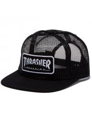 Czapka Thrasher Magazine Logo Mesh Black / White