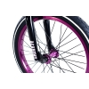 Rower Academy Inspire 7 Gloss Black / Purple 18""