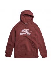 Bluza Nike SB Icon Cedar / White Hoodie