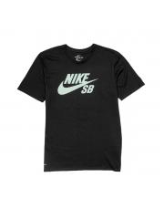 Koszulka Nike SB Logo Black / Fresh Mint