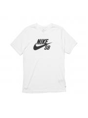 Koszulka Nike SB Logo White / Black