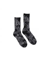 Skarpetki HUF 420 Triple Triangle Smoke Black