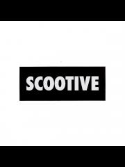 Naklejka Scootive Classic Black