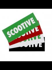Pakiet 4 naklejek Scootive Classic
