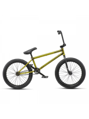 Rower BMX WTP Justice 9 Matt Translucent Yellow