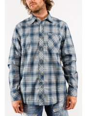 Koszula Nike Raleigh Plaid Flannel Armory Navy