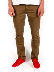 Spodnie Kr3w Slim Chino Coffee