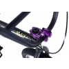Rower BMX Academy Aspire 8 Matte Black / Purple