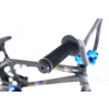 Rower Academy Inspire 8 Metal Black / Blue 16""