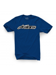 Koszulka Alpinestars Decal Youth Navy Blue