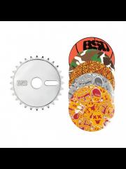 Zębatka BSD Sticker Bomb New Silver