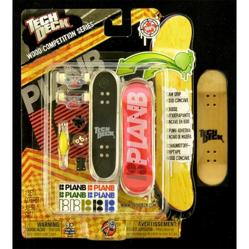 Fingerboard Wood Competition Series Tech Deck Plan B