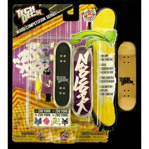 Fingerboard Wood Competition Series Tech Deck Zoo York
