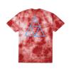 Koszulka HUF Washed Triple Triangle Red