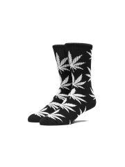 Skarpetki HUF Plantlife Crew Black / White