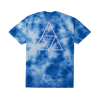 Koszulka HUF Washed Triple Triangle Blue