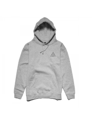 Bluza HUF Triple Triangle Pullover Hooded Heather Grey