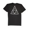 Koszulka HUF Triple Triangle Black