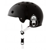 Kask King Kong Shiny Black (White Straps)